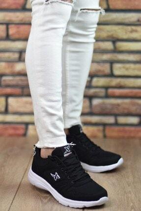 Riccon Siyah Beyaz Unisex Sneaker 12020 2
