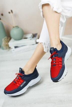 Riccon Unisex Lacivert Bağçıklı Sneaker 0012072 4