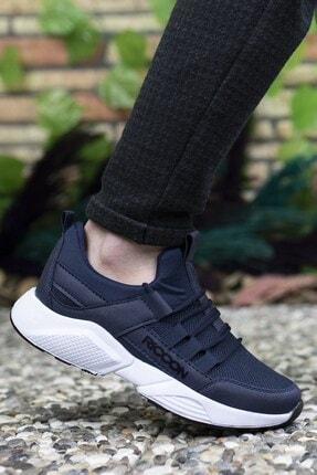 Riccon Unisex Lacivert Beyaz Sneaker 1