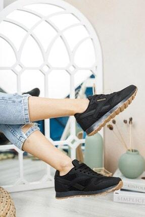 Riccon Siyah Siyah Unisex Sneaker 0012853 1