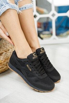 Riccon Siyah Siyah Unisex Sneaker 0012853 2