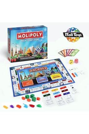 Kupa Yeni Molipoly Emlak Ticaret Oyunu, (monopoly Tarzı) Mega City Aile Oyunu Yeni Model 1