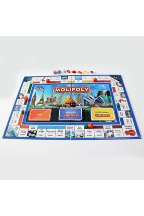 Kupa Yeni Molipoly Emlak Ticaret Oyunu, (monopoly Tarzı) Mega City Aile Oyunu Yeni Model 3