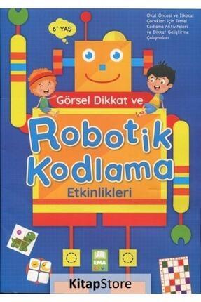 Ema Çocuk Görsel Dikkat Ve Robotik Kodlama Etkinlikleri (6+ Yaş) 0