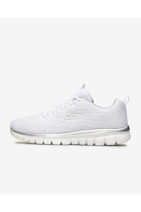 Skechers GRACEFUL-GET CONNECTED Beyaz Kadın Yürüyüş Ayakkabısı 100353423 0