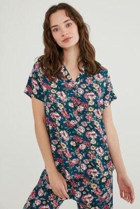Penti Night Flowers Ss Pijama Takımı 0