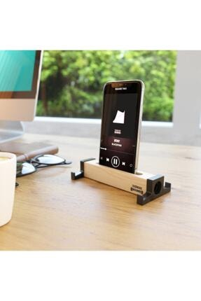 SEOWOOD Ahşap Akustik Telefon & Tablet Standı. Ses Artırma Ve Sese Akustik Katma Özelliği Stero Ses Kalitesi 0