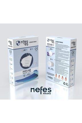 Nfes maske Nefes N95 Maske 10 Lu 1 Paket 0