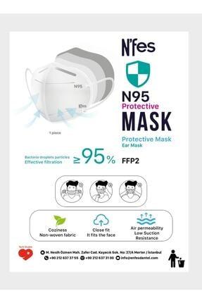 Nfes maske Nefes N95 Maske 10 Lu 1 Paket 1