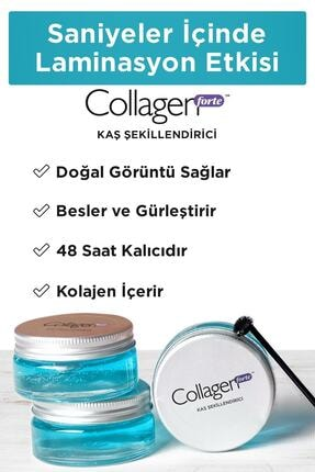 Collagen Forte Kaş Şekillendirici Wax 50 ml 0
