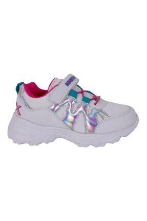 Kinetix WAVES MESH 1FX Beyaz Kız Çocuk Yürüyüş Ayakkabısı 100584429 1