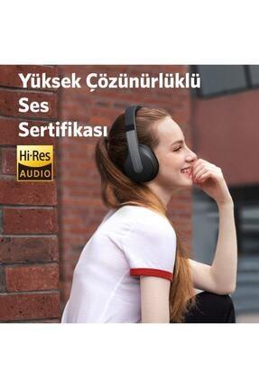 Anker Soundcore Life Q10 Kablosuz Bluetooth 5.0 Kulaklık - 60 Saate Varan Şarj - Siyah Gri - A3032 4