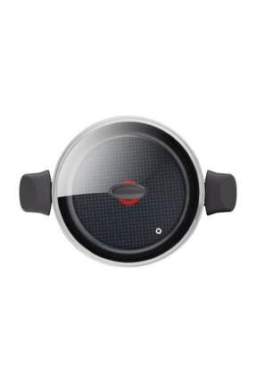 TEFAL Elegance Titanium Serisi 28 Cm Kısa Karnıyarık Tencere 3