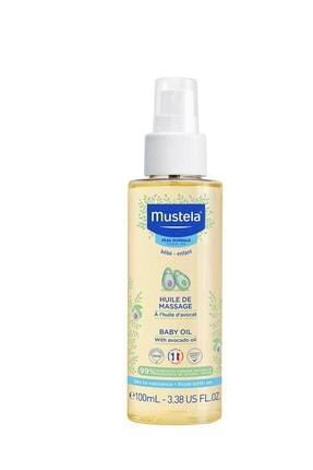 Mustela Massage Oil - Bebek Masaj Yağı 100 ml 0