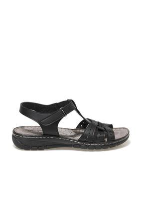 Polaris 91.158589.Z1FX Siyah Kadın Sandalet 101020331 1
