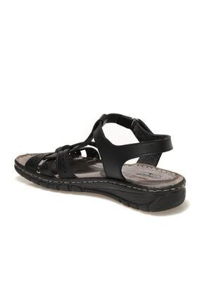 Polaris 91.158589.Z1FX Siyah Kadın Sandalet 101020331 2