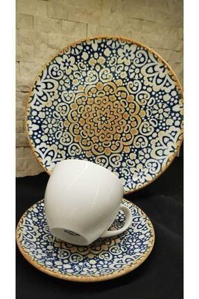 Bonna Alhambra 6 Kişilik Çay Seti Ve Pasta Takımı 3