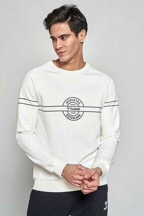 HUMMEL Erkek Beyaz Sweatshirt 921036-9973 0