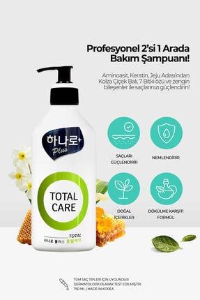 TERESIA Hasarlı Saçlara Özel Şampuan + Saç Kremi 2'si 1 Arada Tedavi Edici Total Care Şampuan 2