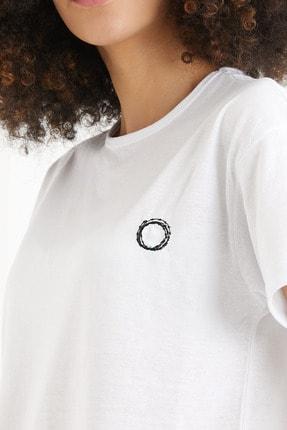 THE CACTUS Unisex Nakışlı T-shirt 3