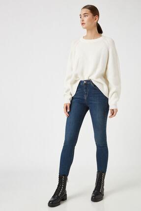 Koton Dark İndigo Kadın Jeans 1KAK47674MD 0