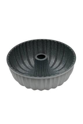 Emsan Griss Hardstone Gri 24 cm Döküm Kek Kalıbı 0