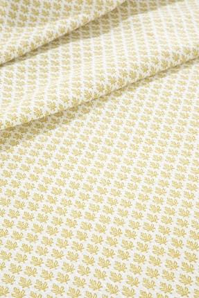 English Home Petit Florets Baskılı Çift Kişilik Pike 200x220 Cm Kivi Yeşili 2