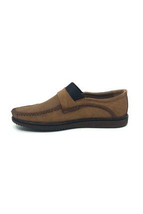 Taşpınar Üçlü Hakiki Deri Bağsız Yazlık Tam Rok Rahat Streçli Erkek Ayakkabı 39-45 2