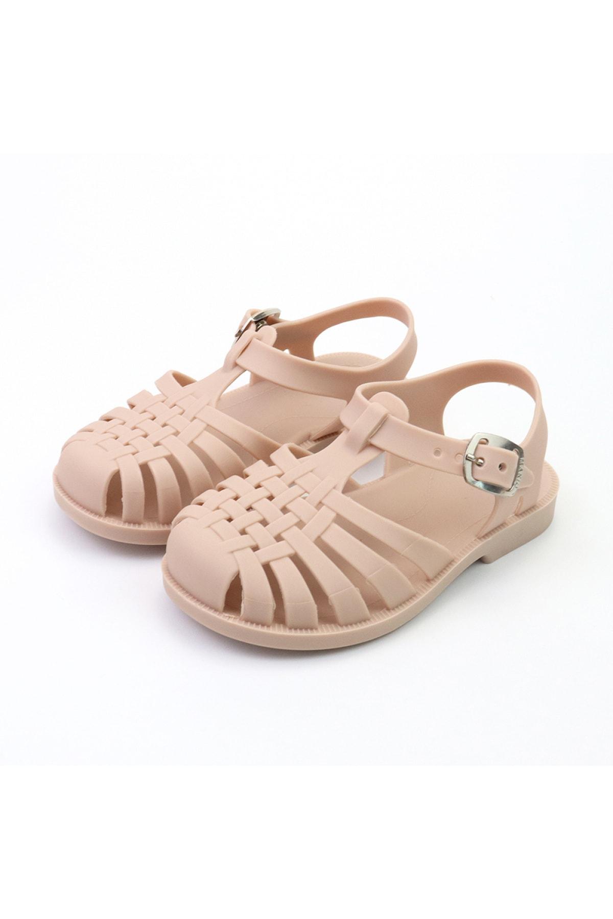 Kız Çocuk Pembe Yazlık Sandalet
