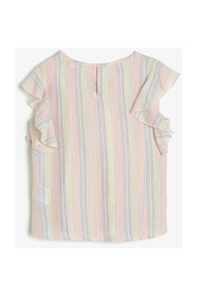 Koton Kız Çocuk Renkli Çizgili Bluz 0YKG67046AW 1