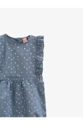 Koton Kız Çocuk Mavi Tulum 2