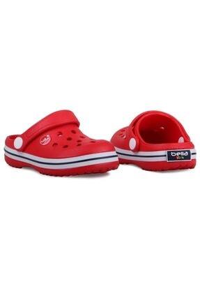 Akınalbella Unisex Çocuk Kırmızı Yazlık Sandalet Terlik 1