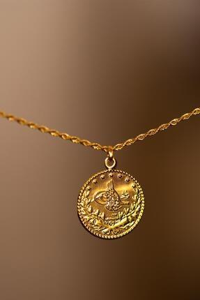 Bayar Gold 14 Ayar Altın Tuğralı Halat Kolye 1