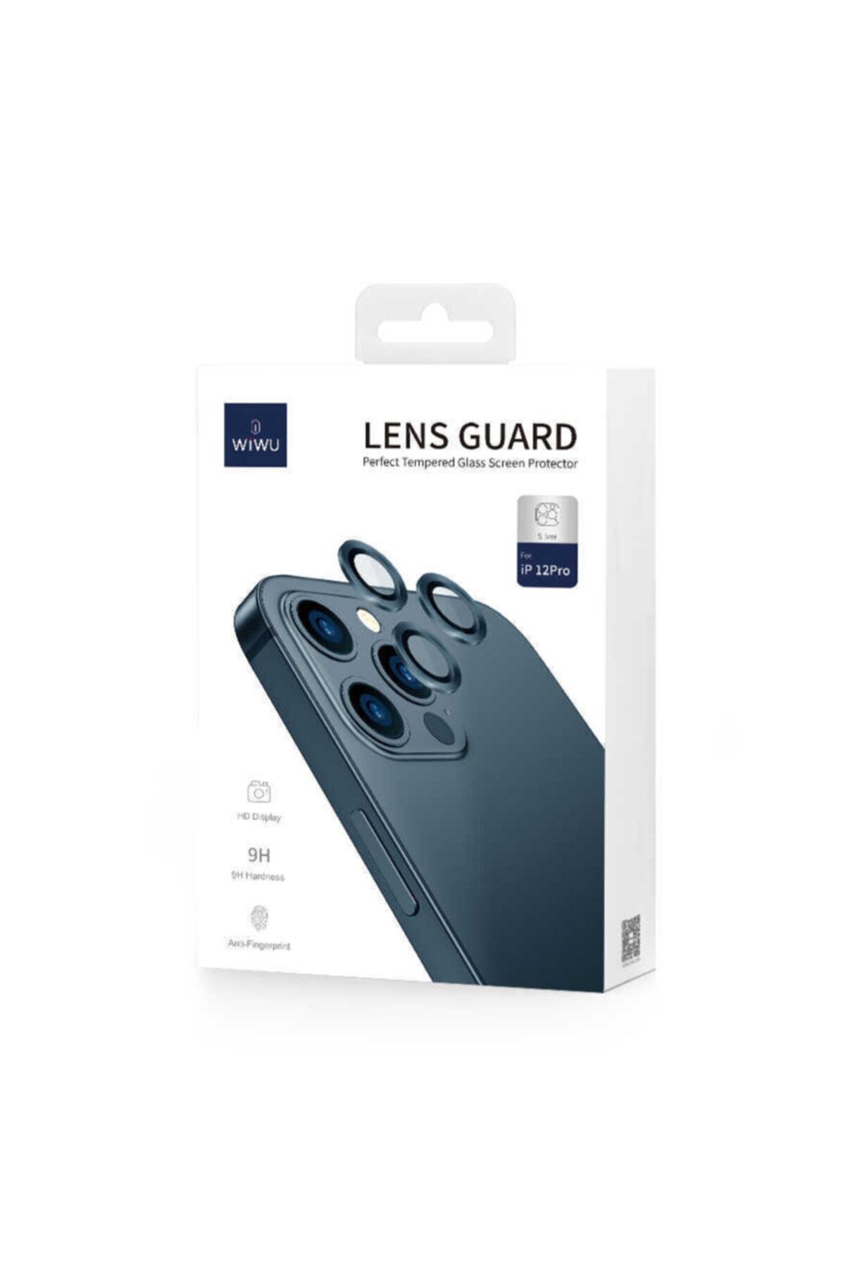 Cep prime Iphone 12 Pro Uyumlu Max ???4 Katmanlı Metal Nano Sistem Tam Koruma Sistem Lens Gold