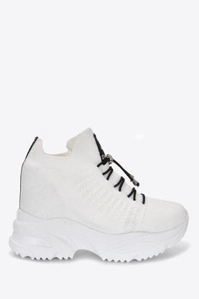 Kadın Beyaz Sneaker Vzn21-069y 163152_Beyaz