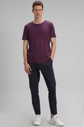 Lufian Junya Modern Grafik T- Shirt Mürdüm 2