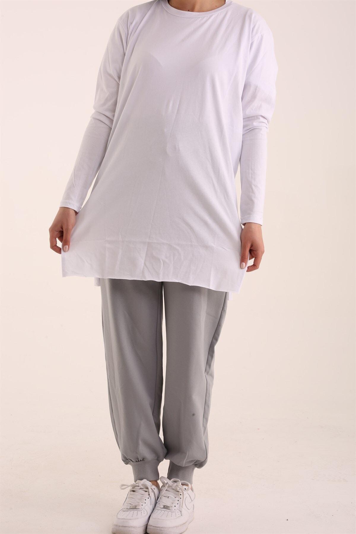 Kadın Uzun Kol Içlik- Beyaz