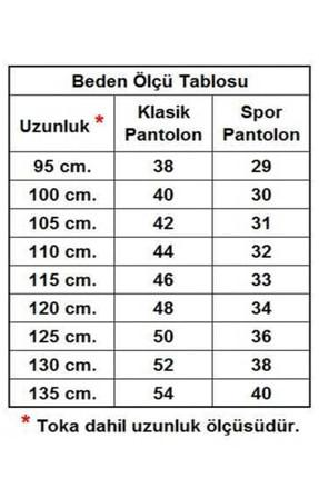 KASVA DERİ 3.5 Cm Siyah Düz Suni Klasik Kemer 2