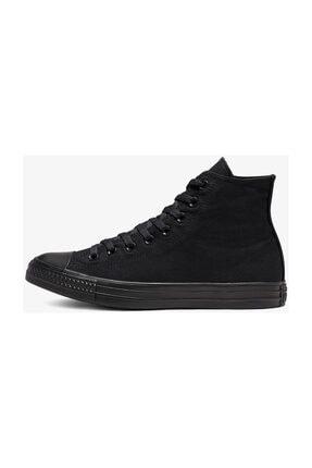Converse Unisex Siyah Chuck Taylor All Star Hi Sneaker M3310C 1