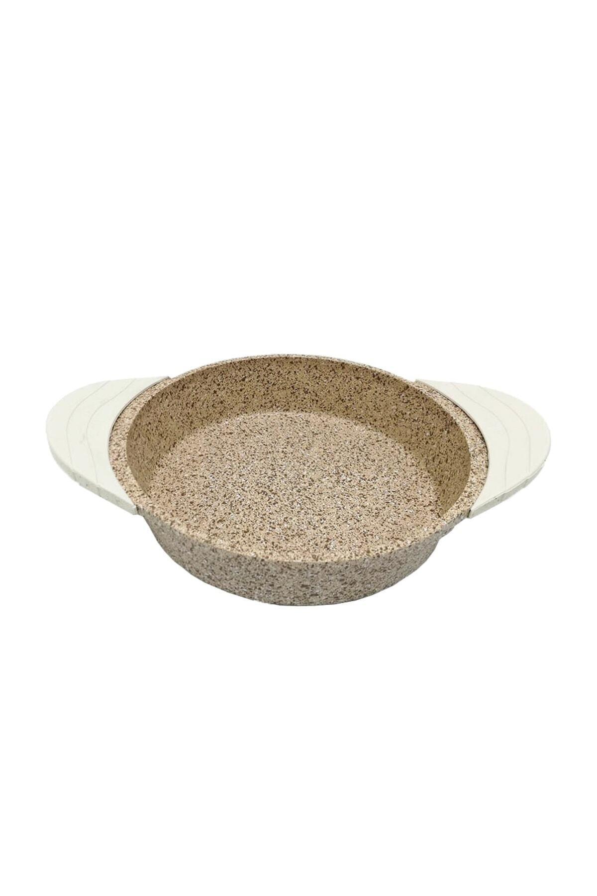 Doacast Creamy 22 Cm Döküm Granit Sahan Tava