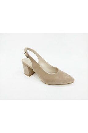 Ten Rengi Kadın Topuklu Ayakkabı FLO DONNA 55