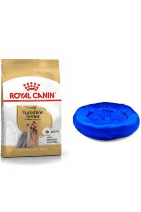 Yorkshire Terrier Köpek Maması 3 Kg + Köpek Simit Yatağı PYRKS002