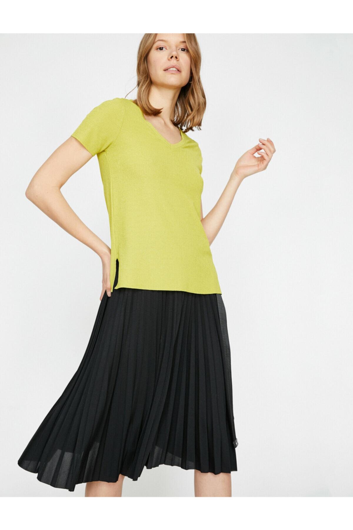 Koton Kadın Kisa Kollu T-shirt