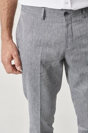 Altınyıldız Classics Erkek Lacivert Slim Fit Casual Pantolon 4