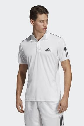 adidas CLUB 3STR POLO-1 Beyaz Erkek T-Shirt 100403539 0
