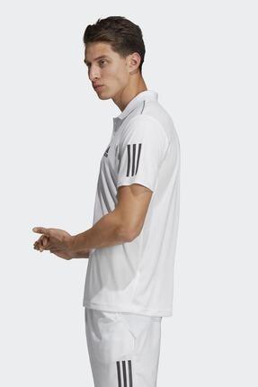 adidas CLUB 3STR POLO-1 Beyaz Erkek T-Shirt 100403539 1