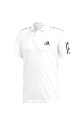 adidas CLUB 3STR POLO-1 Beyaz Erkek T-Shirt 100403539 4