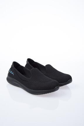 Pierre Cardin Kadın Siyah Düz Yürüyüş Ayakkabısı 2