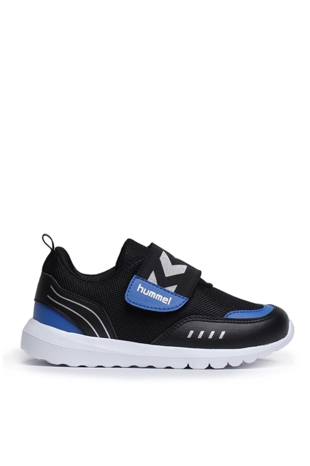 Kız Çocuk Siyah Mavi Yürüyüş Ayakkabısı