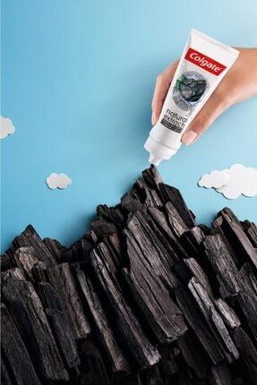 Colgate Natural Extracts Aktif Karbon Ve Nane Saf Temizlik Diş Macunu 75 Ml X 3 Adet + Fırça Kabı He 3